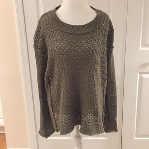 Altar'd State olive sweater